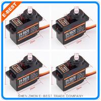 Free shipping 4x EMAX ES08DE Digital micro servo 9G upgrade mg90 for trex 250 450 helicopter(ES08A ES08MA ES08MD wholesale)