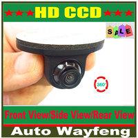 Mini CCD HD Night Vision 360 Degree Car Rear View Camera Front Camera Front View Side Reversing Backup Camera