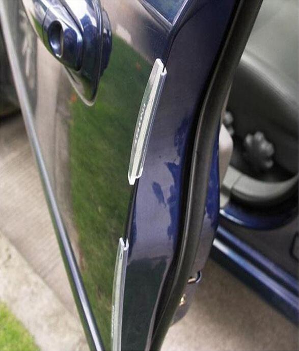 Door Edge Guards Trim Molding Protection Strip Scratch Protector Car Door Guard Crash Barriers sticker for all car 8pcs BUAP05(China (Mainland))