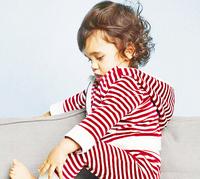 New Arrivals 2014 Brands Baby Boys Striped Autumn Winter Clothing Sets Fashion 2pcs Set Striped HOODIES + Pants Kids Clothes SET