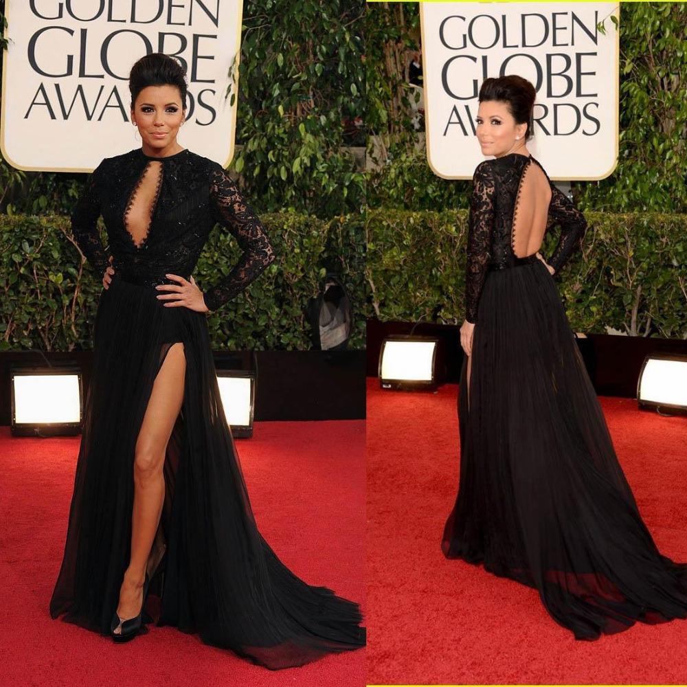 Aliexpress.com : Buy 2015 Sexy Black Prom Dress Sheer Lace Top Long