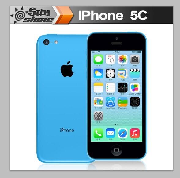 Iphone5c разблокирована оригинальный Apple , iPhone 5c мобильный телефон 4
