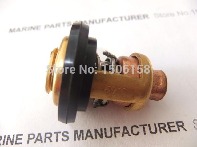 Barco motor termostato 6E5-12411-02 6E5-12411-00 6E5-12411-10 para Yamaha 2 Stroke 15HP 25HP 30HP 40HP - 220HP motores de popa FS(China (Mainland))
