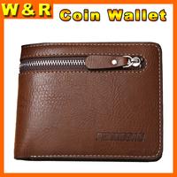 carteira couro men's wallet billeteras masculinas man wallet leather with coin pocket ZCP858-1