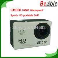 SJ4000 AR0330 Sensor 170 degrees view angle Sunplus 6330M Waterproof Camera 1080P HD portable DVR Sports Camera