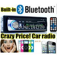 new car radio bluetooth car stereo 12V mp3 player car audio Bluetooth radio SD Card USB Port AUX IN PHONE 1 Din in dash 520