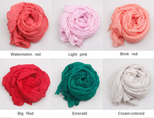 Silk Scarves Solid color shawls all match women s ultra long brand desigual winter scarf candy