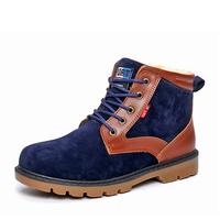 New Winter boot men leather boots man warm shoes Autumn lace-up man's flats rivet driver work shoe Zapatos Scarpe sapatas 696