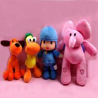Kids Toy Pocoyo Toys Plush Dolls Elly Pato Loula juguete de peluche Good quality 20cm-35cm 1 Piece Free shipping