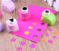 1 PCS Kid Child  Mini Printing Paper Hand Shaper Scrapbook Tags Cards Craft DIY Punch Cutter Tool 8 Style