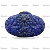 4Colors Retail Egg Valentine Handmade Crystals Bag Gift Appliques Women Casual-Bag Bags Female Party Elegant Evening Clutch Bag