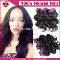 5a malaysian virgin hair body wave 50g/pcs 3/5/6pcs virgin human hair cheap hair extension wavy malaysian weaves 1b# very soft