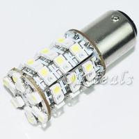 1 PCS 1157 2W 90lm 30-Yellow+30-White SMD 3528 LED Car Turning/Driving Signal Light Parking LED