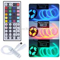 10pcs/lot wholesale DC12v 44 key  ir led rgb remote controller for 5050/3528 led strip light