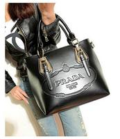 2015 fashion elegant lady handbag, leather women, Europe and the United States the new leather handbag