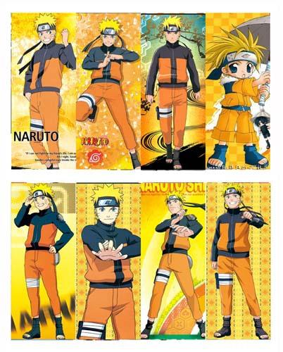 8 Pcs/Lot Japanese 2014 Anime Naruto sasuke kakashi akatsuki Bookmark High Quality for Student's Gift Prize(China (Mainland))