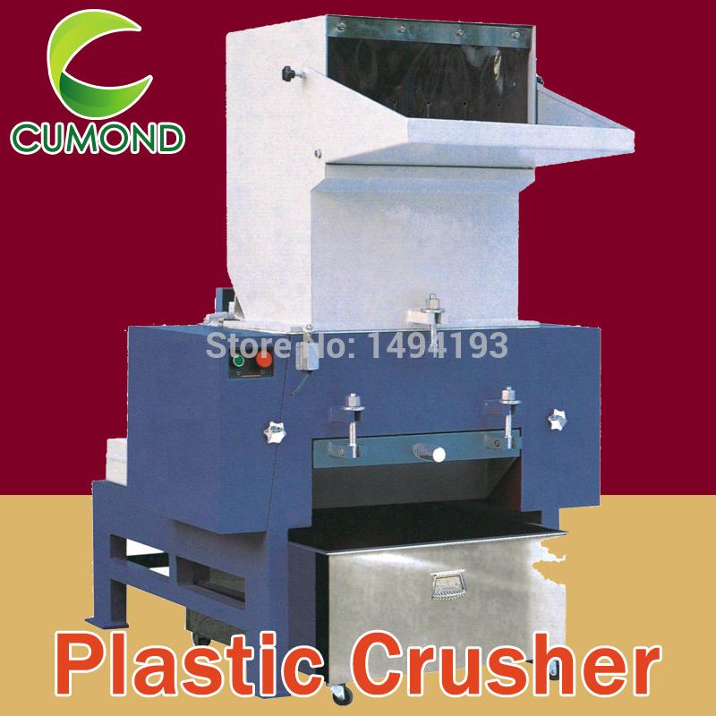 China sale 20HP PET bottle rigid plastic crusher machine/recycled plastic pe/pet Bottle Crusher/plastic shredder ,free shipping(China (Mainland))