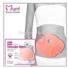 5 pcs Hot Korea Belly Wing Mymi Wonder Patch Abdomen Treatment Cream Reduce Weight Fat Burning Slimming Free Shipping