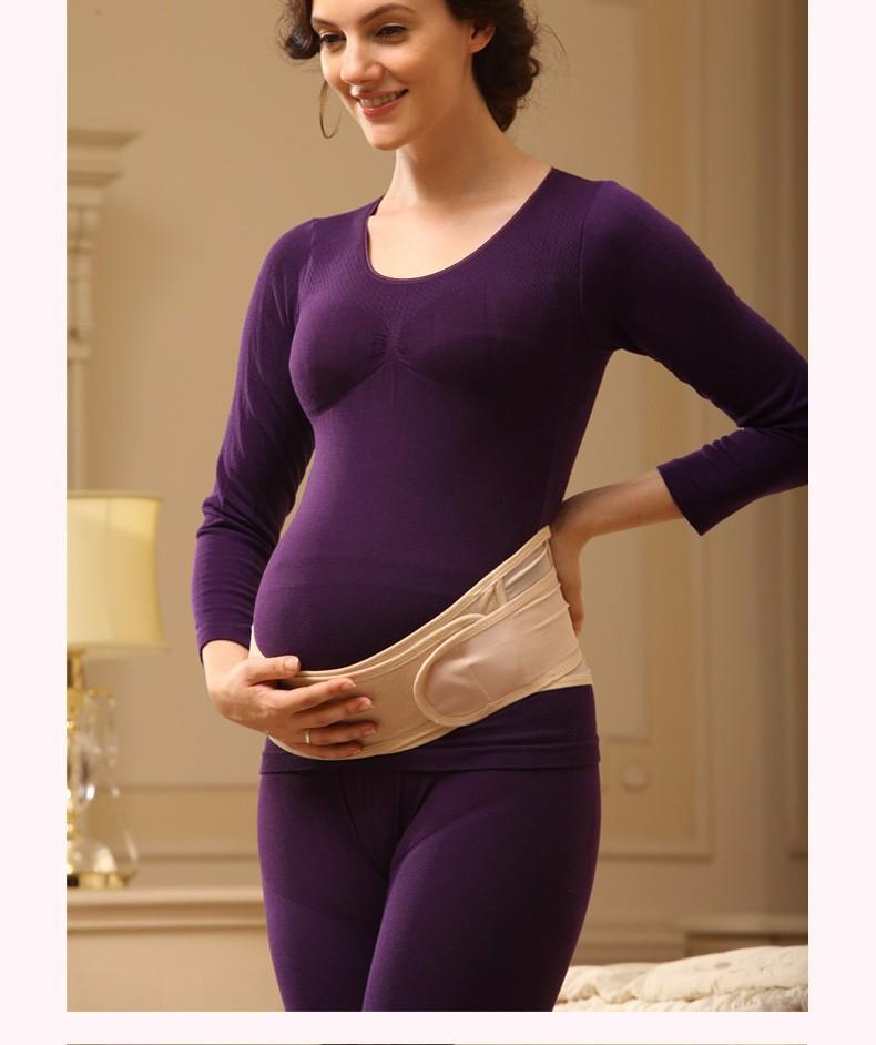 Корсет для беременных скрывают