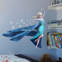 2015 New Kids Bedroom Cartoon Wallpaper Mural For Girls Boys Bedroom Wall Paper Papel De Parede 3D Printer Aisha Wall Sticker