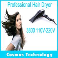 5pcs/lot Professional Parlux Hairdryer 3800 ECO Friendly Hair Dryer Onion Secador De Cabelo HairDryer Styling tools 110V-220V