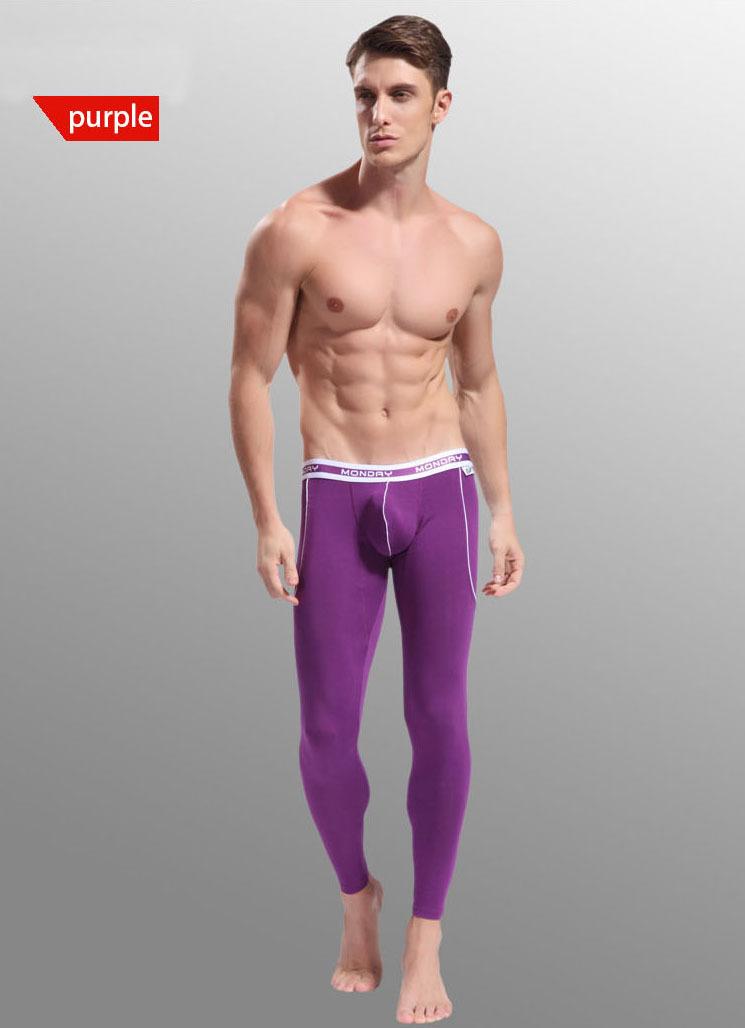 Sexy Thermal Underwear Men  Warm Pants For Men ropa interior