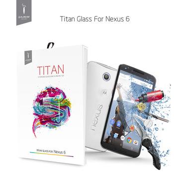 2014 Абсолютная Новинка! GODOSMITH защита для экрана телефона- закаленное стекло, Титан Премиум для Google Nexus с 6 против царапин