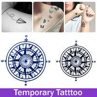 Временные татуировки наклейки искусства тату для человека женщин водонепроницаемый наклейки макияж maquiagem фея Ангел татуировки наклейки
