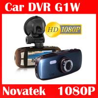 """G1W Car DVR 1080P Novatek+H22 Glass lens +1920*1080P+2.7"""" LCD+ 2 IR Lights + Wide Angle 140 Degrees+G-sensor car camera"""