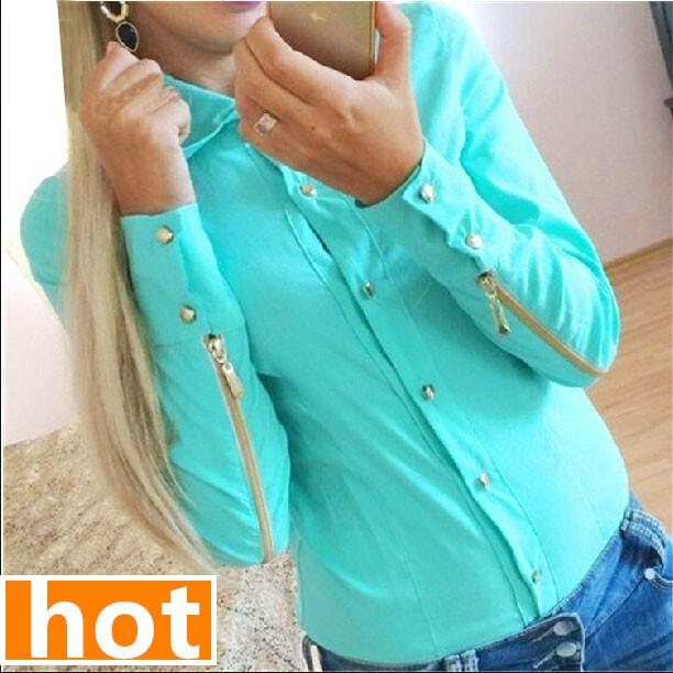 Женские блузки и Рубашки ZA blusas 668 WF-668