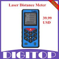 New Tuirel T70 Handheld 70m/229ft/2755in Laser Distance Meter Range Finder Measure Instrument Diastimeter With Free Shipping