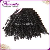 1pcs lot Unprocessed Hair Kinky Curly Virgin Malaysian Afro Kinky Curly Weave 6A Virgin Human Hair Bundles  Human Weaving Hair