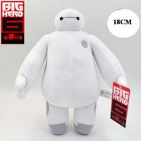 High Quality 18CM Cartoon Movie Brinquedos Doll Toys Big Hero 6 Baymax Good Birthday Gift Plush Toy For Kids
