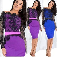 Hot Sale Sexy Fashion Brand Women's clothing lace collar HQ5022