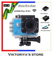 Original SJCAM SJ5000 Plus Ambarella A7LS75 Helmet Camcorder SJ5000+ WIFI 1080P 60FPS  Sport Action Camera Like Gopro Hero 4