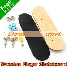 Profissional de madeira do bordo dedo skate liga de níquel Stents rolamento de roda Mini Fingerboard crianças brinquedos DIY crianças engraçado Gadget(China (Mainland))