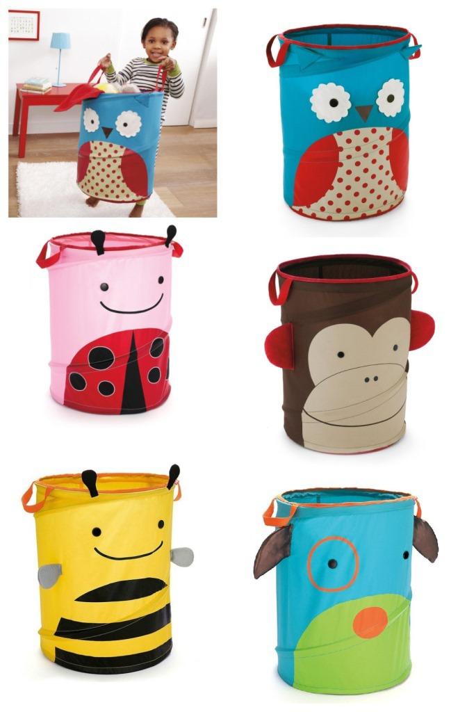 Skip Foldable Baby Toy Storage Box Zoo Storage Bins Five Animals Available Pop-up Hamper HS0000(China (Mainland))