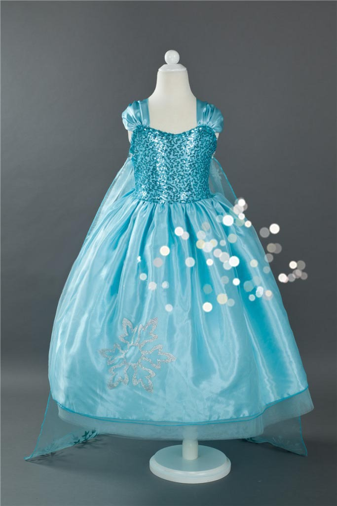 3-12 years Adorable Gorgeous girls dresses children Free Shipping 8S68002(China (Mainland))
