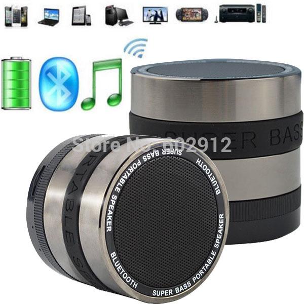 Super Bass Hifi Stereo Wireless Bluetooth Speaker Subwoofer Loudspeakers Boombox Sound box Caixa De Som Portatil Alto Falante(China (Mainland))