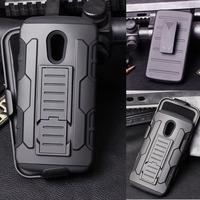 For Motorola Moto G2 Case, Future Armor Impact Hard Cover Case For Motorola Moto G2 2014 2nd Gen G2 XT1068 XT1069 + Flim +Stylus