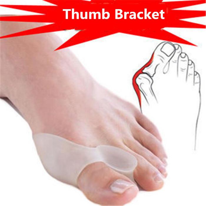 Hallux Valgus Corrector Safe Medical Silica Gel Toe Fisioterapia Tacones Big Toe Separator Pro Bunion Guard Feet care Corretivo(China (Mainland))