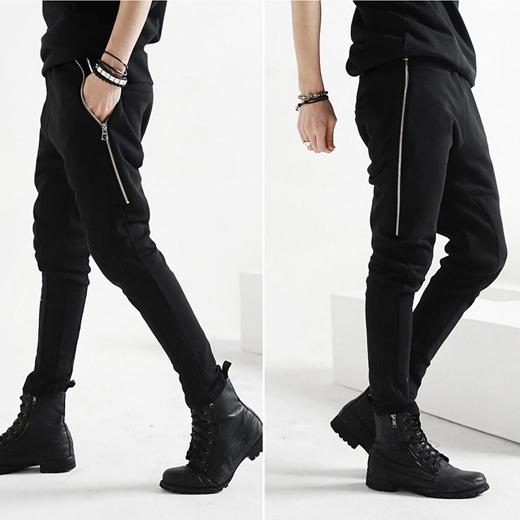 Guys Overalls Fashion New Fashion Men Overalls Black