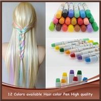 New Style Fast Temporary Hair Dye Color DIY Hair Cream Mix Salon Fun Fast Easy Set Pastel Hair Professional Cream Hair Color Pen