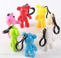 2015 new balance key chain chaveiro anime key ring bear key holder trinket kawaii souvenirs novelty items key finder
