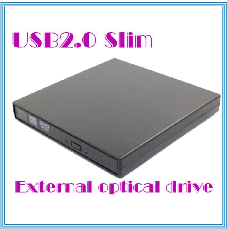 USB 2.0 Slim External Optical Combo CD-RW CD+RW Burner Drive DVD ROM CD-ROM/XA For Laptop PC(China (Mainland))