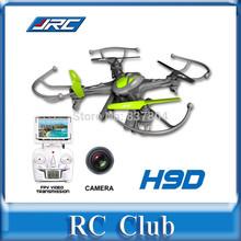 FPV Version JJRC H9D H9D-4 4CH Digital 6 Gyro Transmission RC Quadcopter with Camera 2.4GHz RTF(China (Mainland))