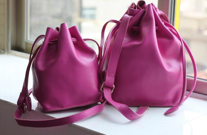 women Genuine Leather handbags women messenger bags textile handbags(China (Mainland))