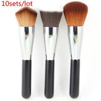 Professional Makeup Brushes Set 3pcs Multipurpose Brushes For Face Beauty Wholesale 10sets/lot