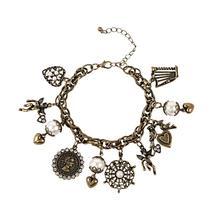 Golden phoenix fashion accessories fashion vintage queen bracelet love TT969-TP-B5(China (Mainland))