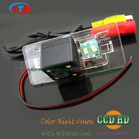 wired wireless for Audi A4L A6L Q5 Q3 A7 A1 A3 RS52012 2013 2014 car rear parking camera ccd with LEDS night vision waterproof